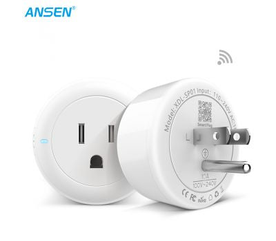 ANSEN Smart WIFI Socket US Standard 100-240v Remote 2.4g