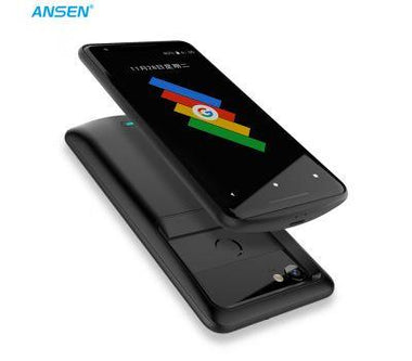 ANSEN 4700mah Battery Case For Google Pixel 2 XL 5200mah