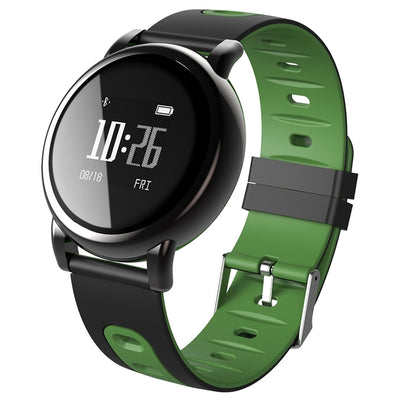 B8 0.96 inch Square Screen Display Bluetooth Smart Bracelet, IP67 Waterproof, Support Pedometer