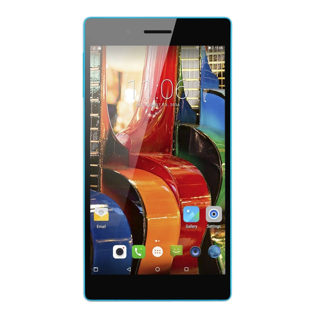 Lenovo Tab3 730M, 7.0 Inch, 2GB+16GB, Android 6.0 MTK8735P Quad Core 1.0GHz, Network: 4G, WiFi, GPS, BT(White)