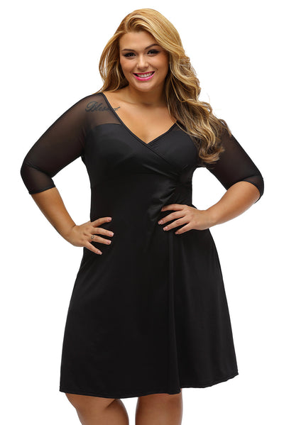 Plus Size Sugar and Spice Dress