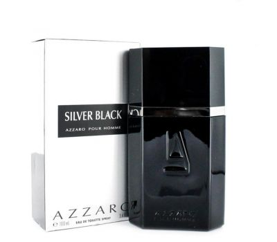 AZZARO SILVER BLACK MEN EDT 100ML