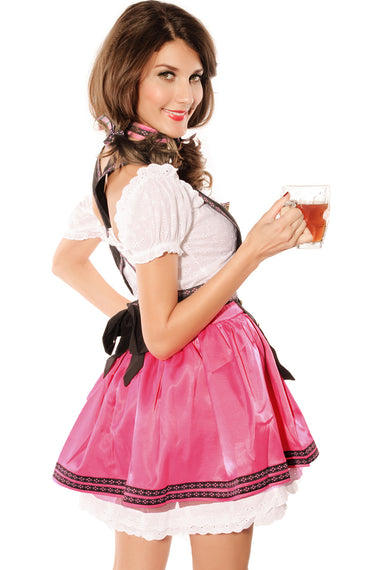 4PC Sweet Flirting Beer Babe Costume | Women Clothing Qatar
