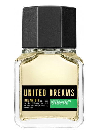 BENETTON UNITED DREAMS BLACK DREAM BIG EDT 100ML