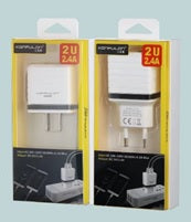 KONFULON Dual USB Charger Plug Model No C32
