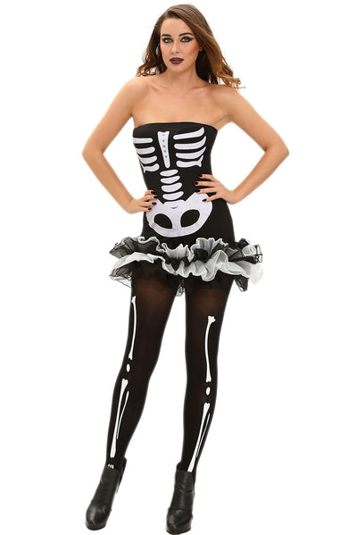 Fever Skeleton Halloween Costume