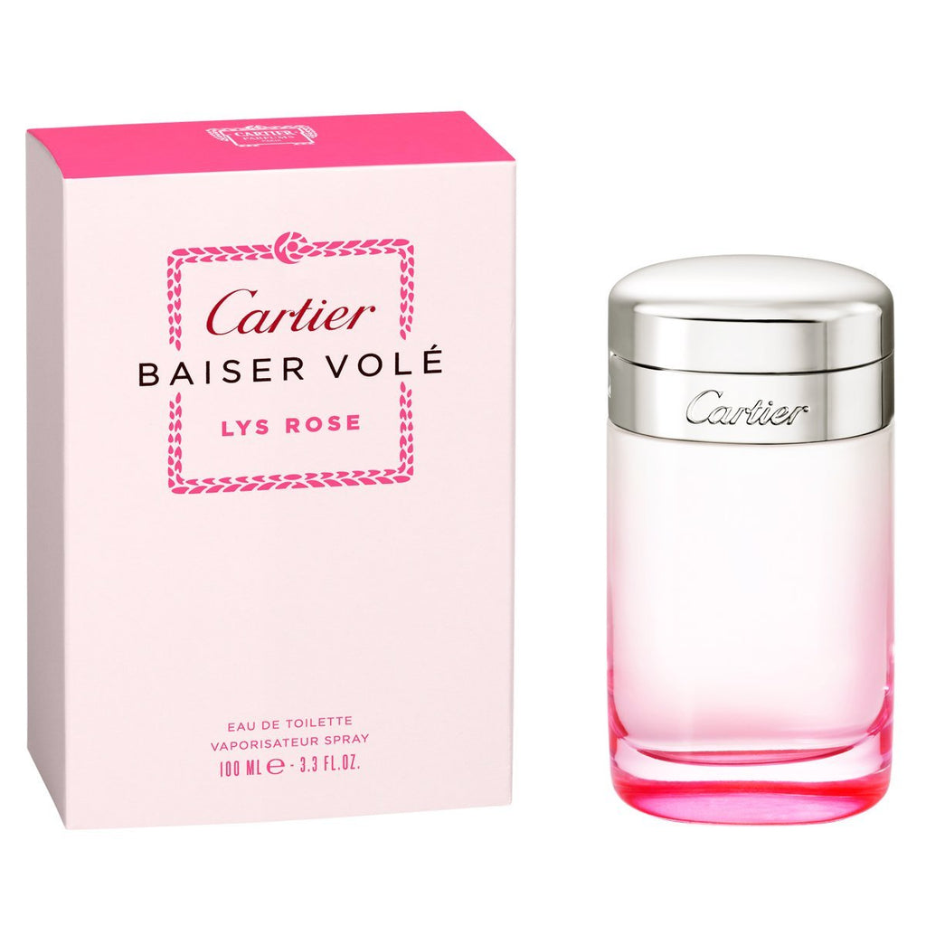 Cartier Baiser Vole Lys Rose Women EDT 100ml