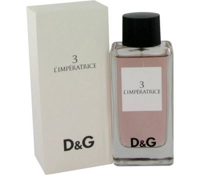 DOLCE & GABBANA 3 L IMPERATRICE WOMEN EDT 100ML