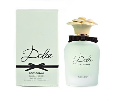 DOLCE & GABBANA FLORAL DROPS WOMEN EDT 75ML