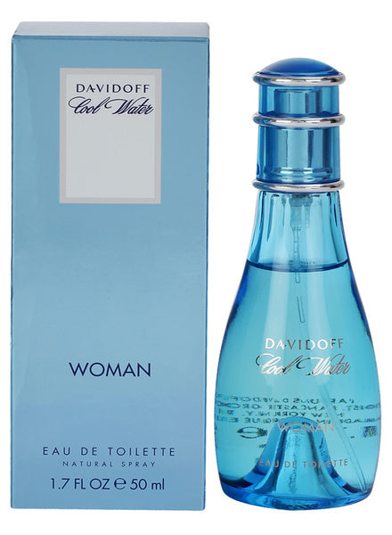 DAVIDOFF COOL WATER WOMEN EDT 50ML