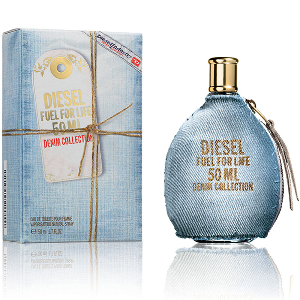DIESEL FUEL FOR LIFE DENIM WOMEN EDT 50ML