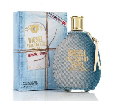 DIESEL FUEL FOR LIFE DENIM WOMEN EDT 75ML