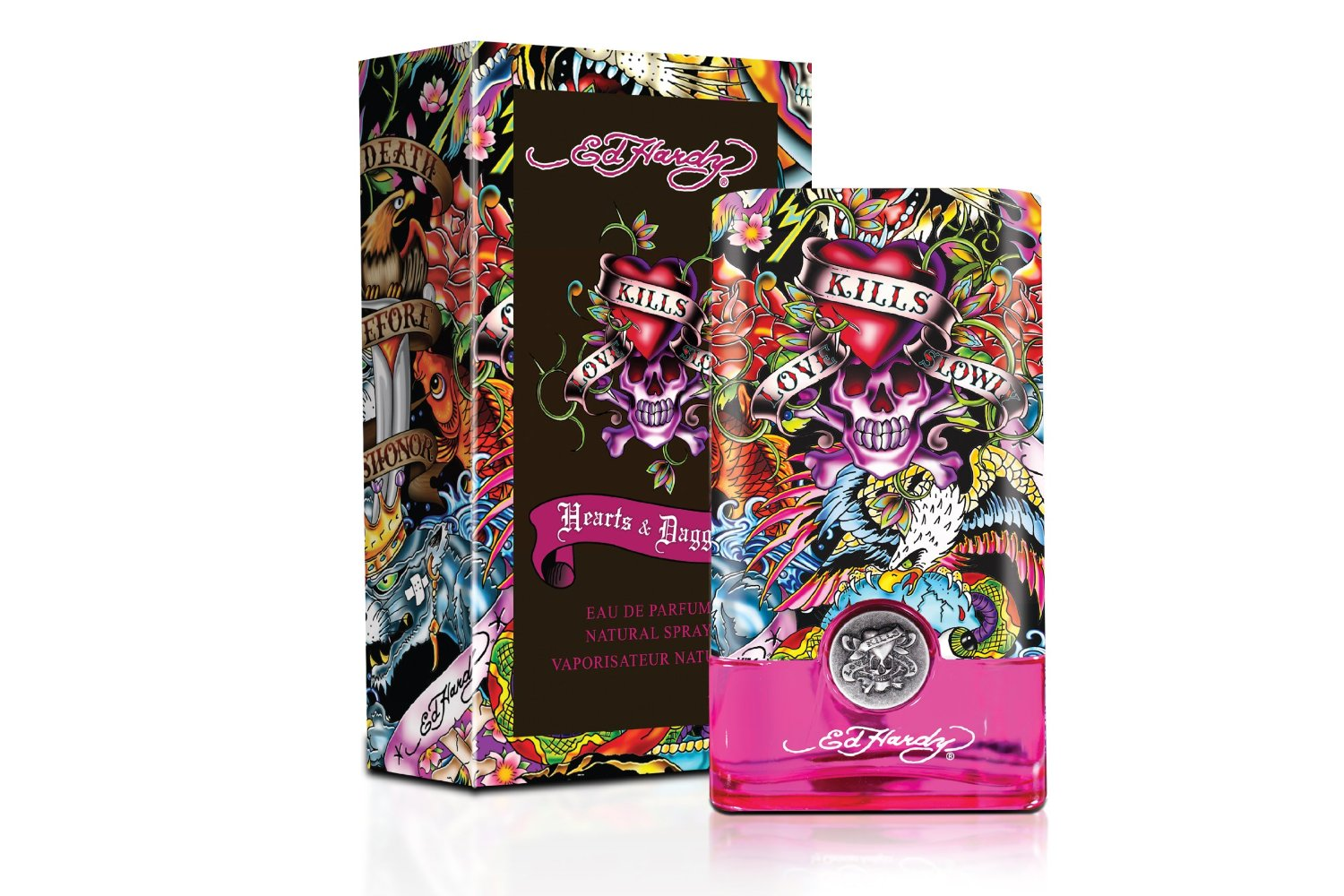 CHRISTIAN AUDIGIER ED HARDY HEARTS AND DRAGGERS WOMEN EDP 100ML