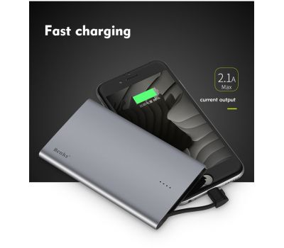 BENKS E400C MFI CERTIFIED SLIM POWER BANK 4000mAh