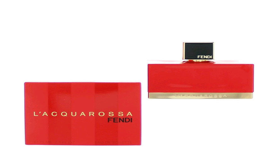 FENDI L ACQUAROSSA WOMEN EDT 75ML