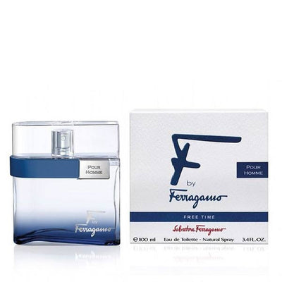 Salvatore Ferragamo F Free Time Men EDT 100ml