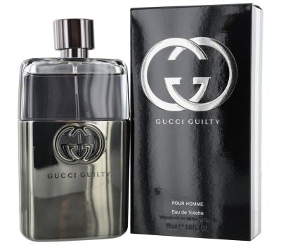 GUCCI GUILTY POUR HOMME MEN EDT 90ML