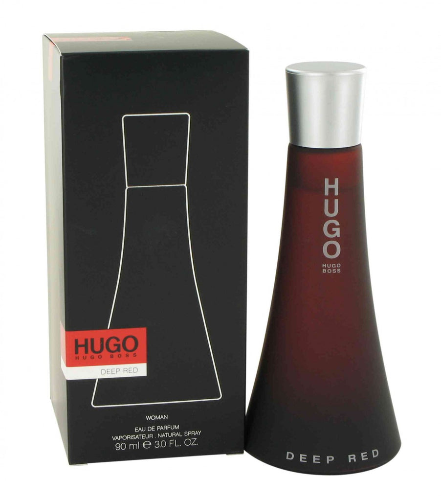HUGO BOSS HUGO DEEP RED WOMEN EDP 90ML