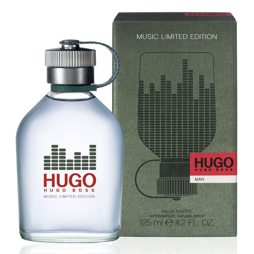 HUGO BOSS MAN GREEN MUSIC EDITION MEN EDT 125ML