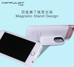 KONFULON Power Bank 3300 MAH Model Ip6/7/8 Magic Clip Power