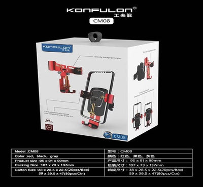 Konfulon Silicon Car Mount Model CMO8
