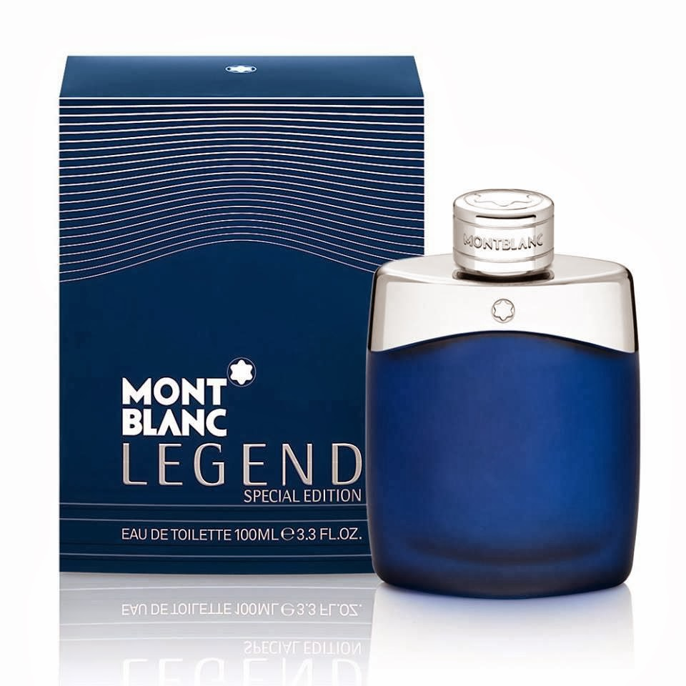 Mont Blanc Legend Special Edition Blue Men EDT 100ml