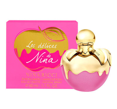 NINA RICCI LES DELICES DE NINA WOMEN EDT 75ML