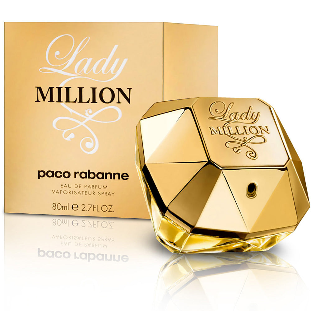 PACO RABANNE LADY MILLION WOMEN EDP 80ML