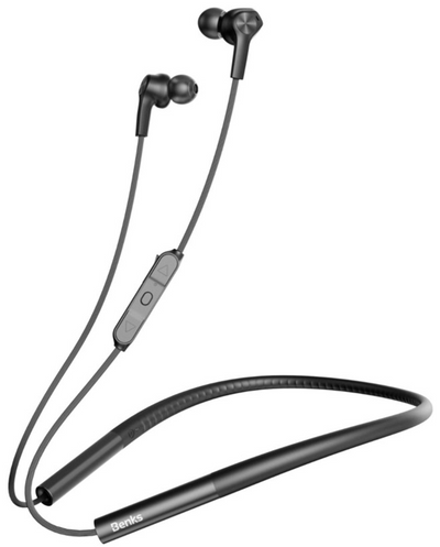 BENKS Wireless Bluetooth Sport Earphone With Magnetic