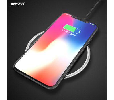 ANSEN QI MOBILE WIRELESS CHARGER FOR SMARTPHONE CELL PHONE WITH WIRELESS FUNCTION 7.5W
