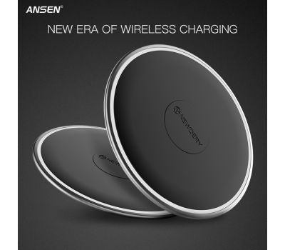 ANSEN Qi Wireless Car Charger For Samsung & iPhone
