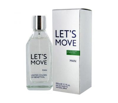 BENETTON LET'S MOVE MEN EDT 100ML