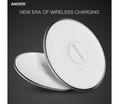 ANSEN Wireless Charger for Samsung, iPhone with QI