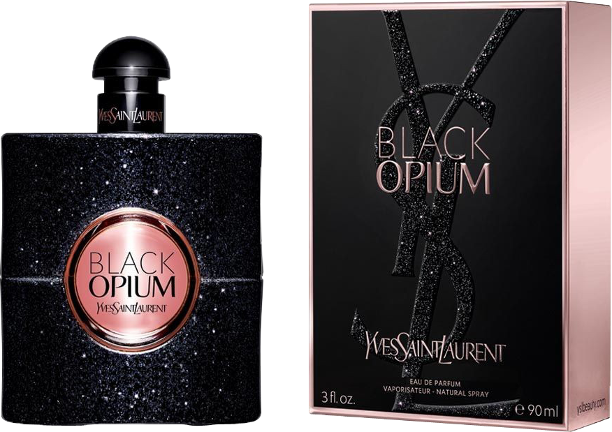 YVES SAINT LAURENT YSL BLACK OPIUM NUIT BLANCHE WOMEN EDP 90ML