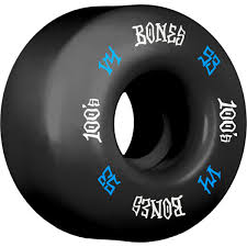 BONES 100S OG BLACK V4 53MM (Set of 4)