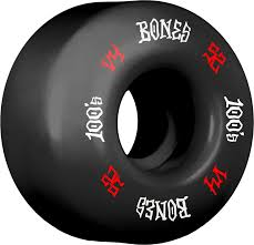 BONES 100S OG BLACK V4 52MM (Set of 4)