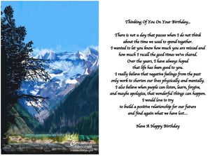 Mountain Views - Birthday Memories & Hope