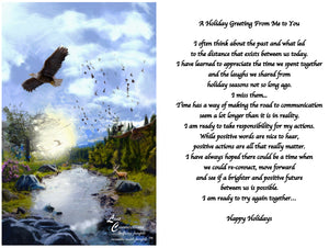 Nature By The Stream - Holiday Recollections & Wishes