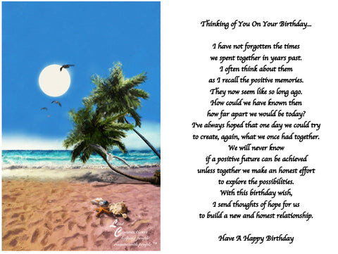 The Beach - Birthday Reflections & Aspirations