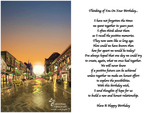 The Holidays In Town - Birthday Reflections & Aspirations