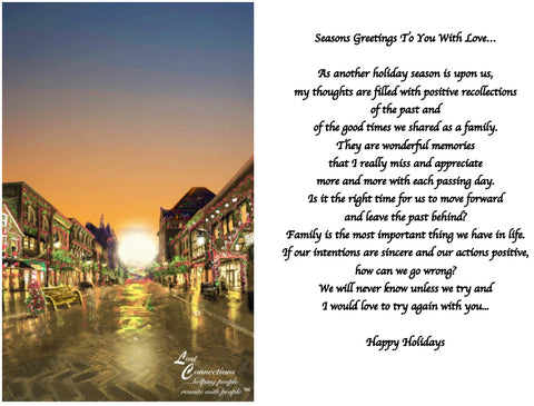 The Holidays In Town - Holiday Reminiscence & Desire