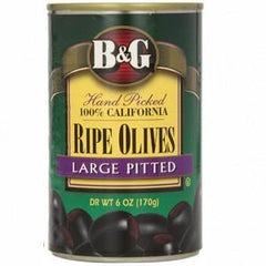B&G RIPE LARGE OLIVES PITTED