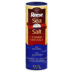 REESE SEA SALT COARSE CRYSTALS