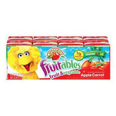 APPLE & EVE SESAME STREET APPLE CARROT JUICE - PACK