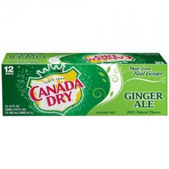 CANADA DRY SELTZER - 12 PACK - 12 FL OZ EACH CAN