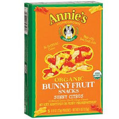 ANNIE'S ORGANIC BERRY PATCH BUNNY FRUIT SNACKS
