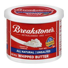 BREAKSTONE'S WHIPPED UNSALTED BUTTER