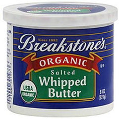BREAKSTONE ORGANIC SALTED WHIPPED BUTTER