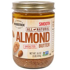 WOODSTOCK FARM NATURAL ALMOND BUTTER SMOOTH