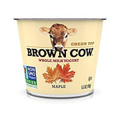 BROWN COW ALL  NATURAL PLAIN YOGURT